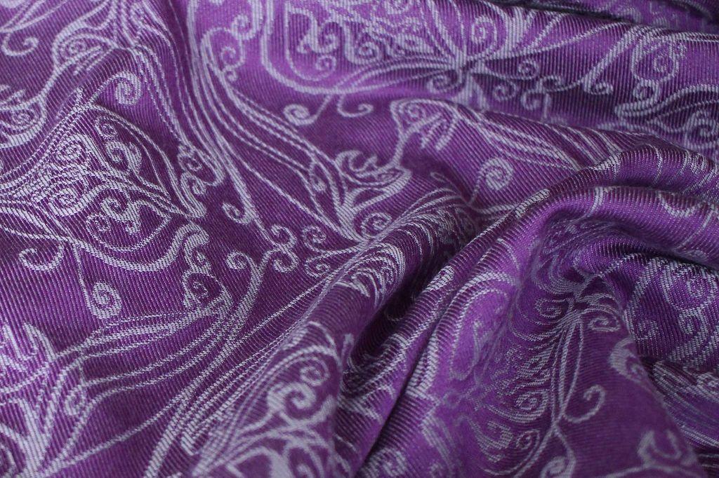 k-Yaro Elvish Purple Silver Tencel Wool 5