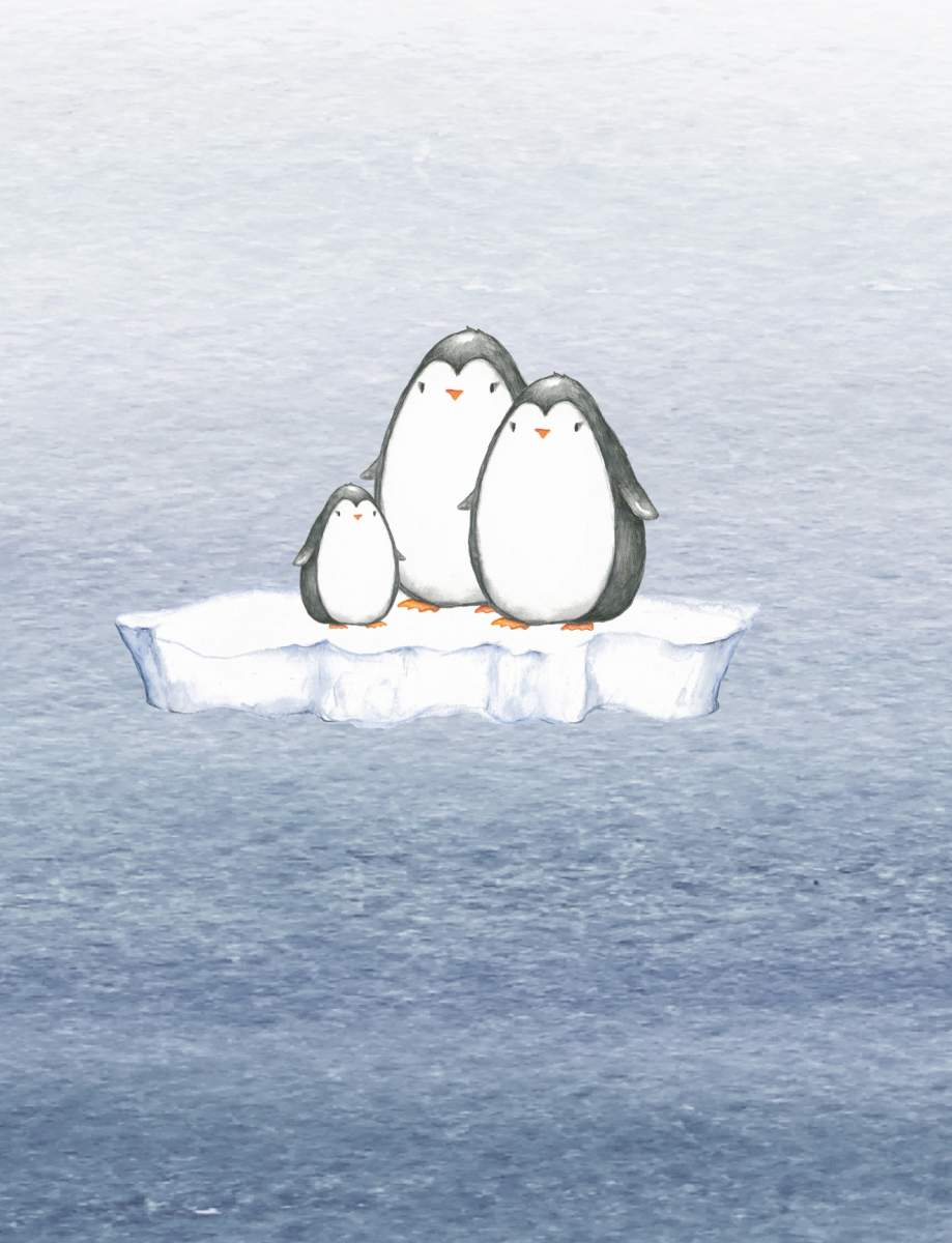 Panel Pinguin 15cm_neu_Zoom