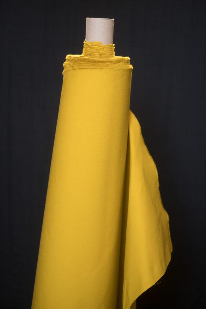 dry oilskin yellow