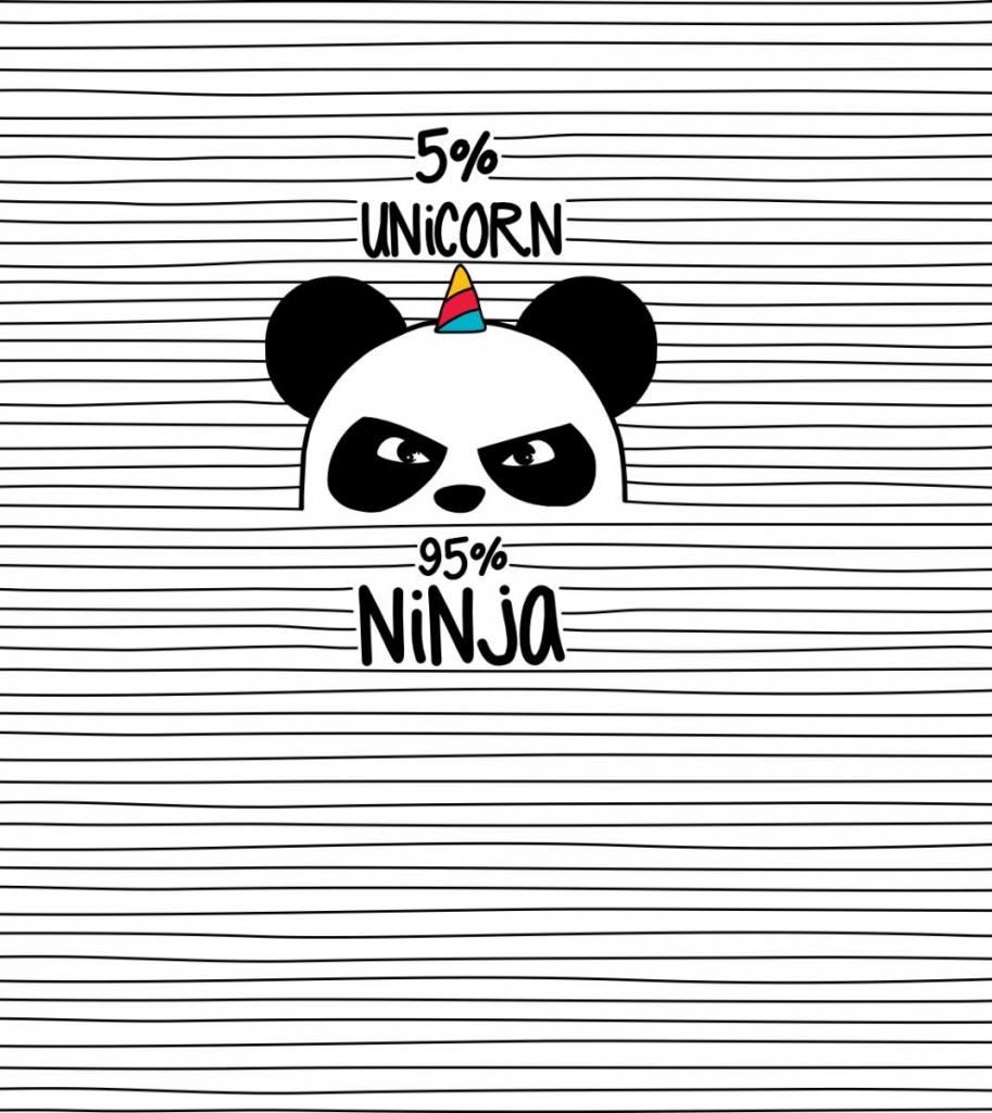 Ninja Panda Ausschnitt