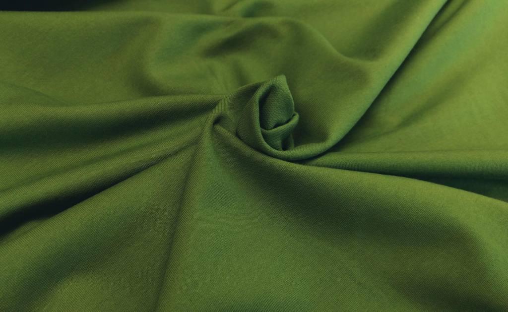 Stretchsweat dunkelgrün 2