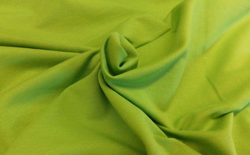 Stretchsweat froschgrün 2