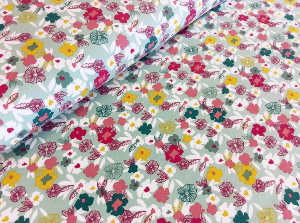 Modal Sweat Blumenwiese flowers mint
