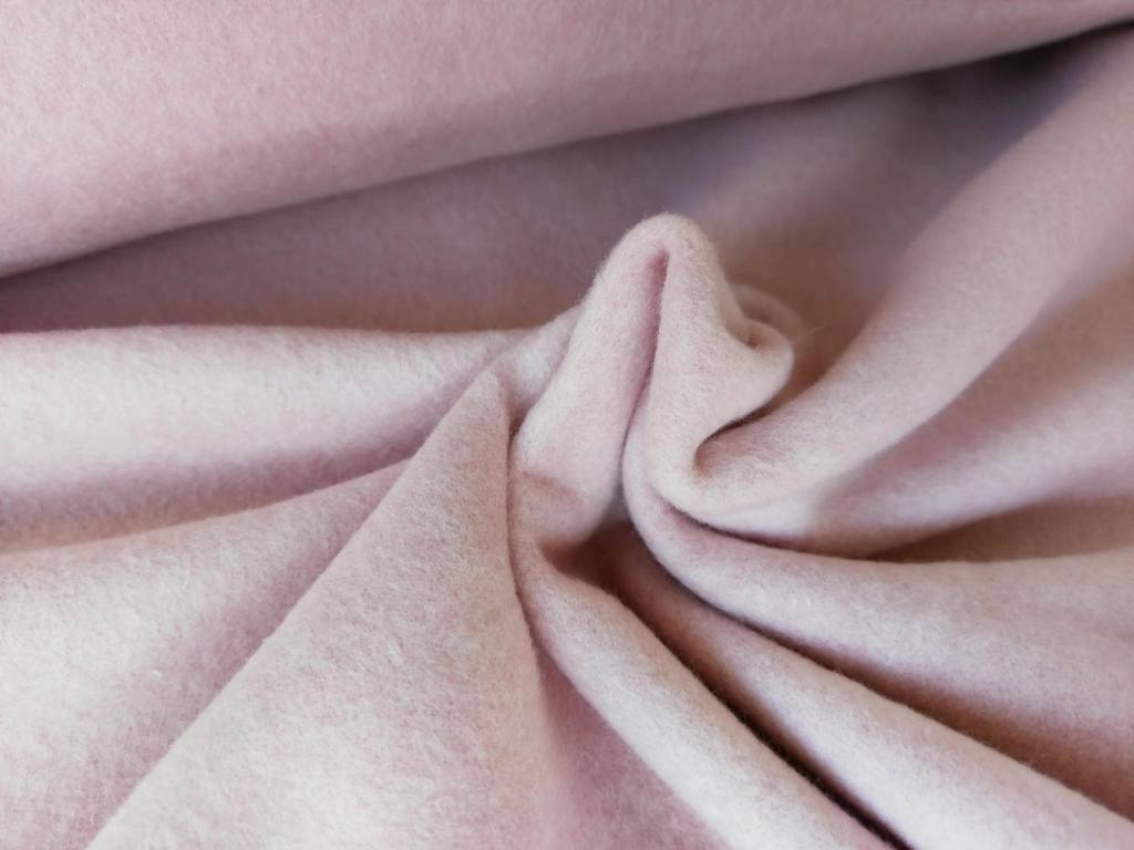 peach rose Baumwollfleece