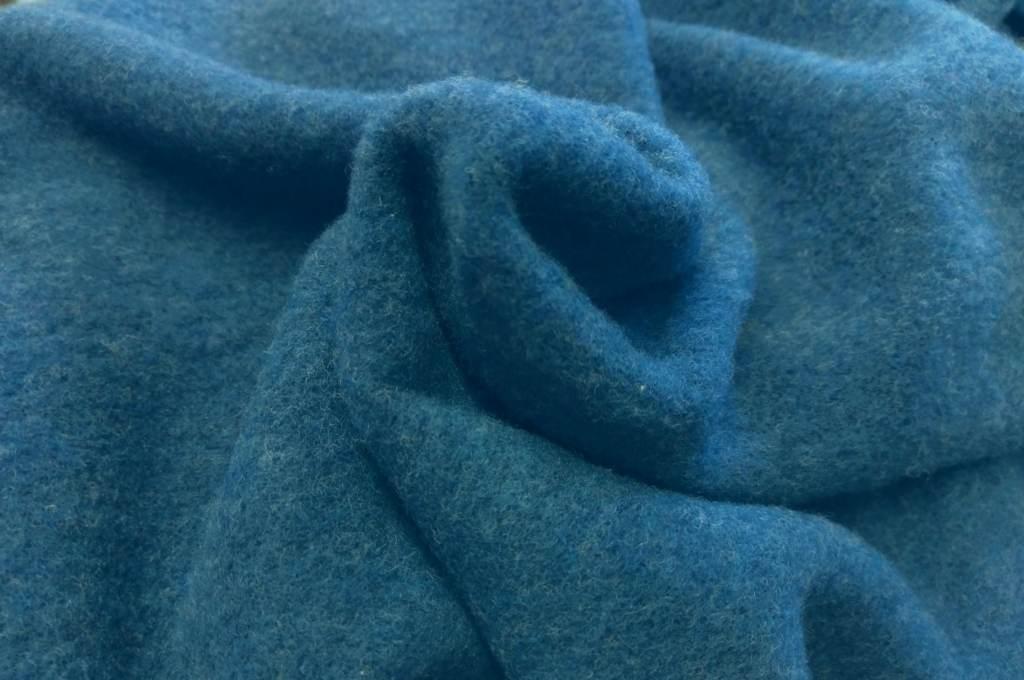 Bio Merinofleece jeansblau