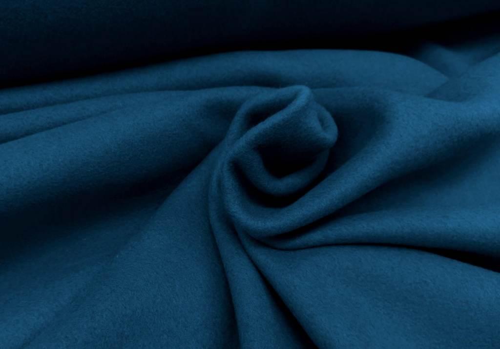 Baumwollfleece indigo