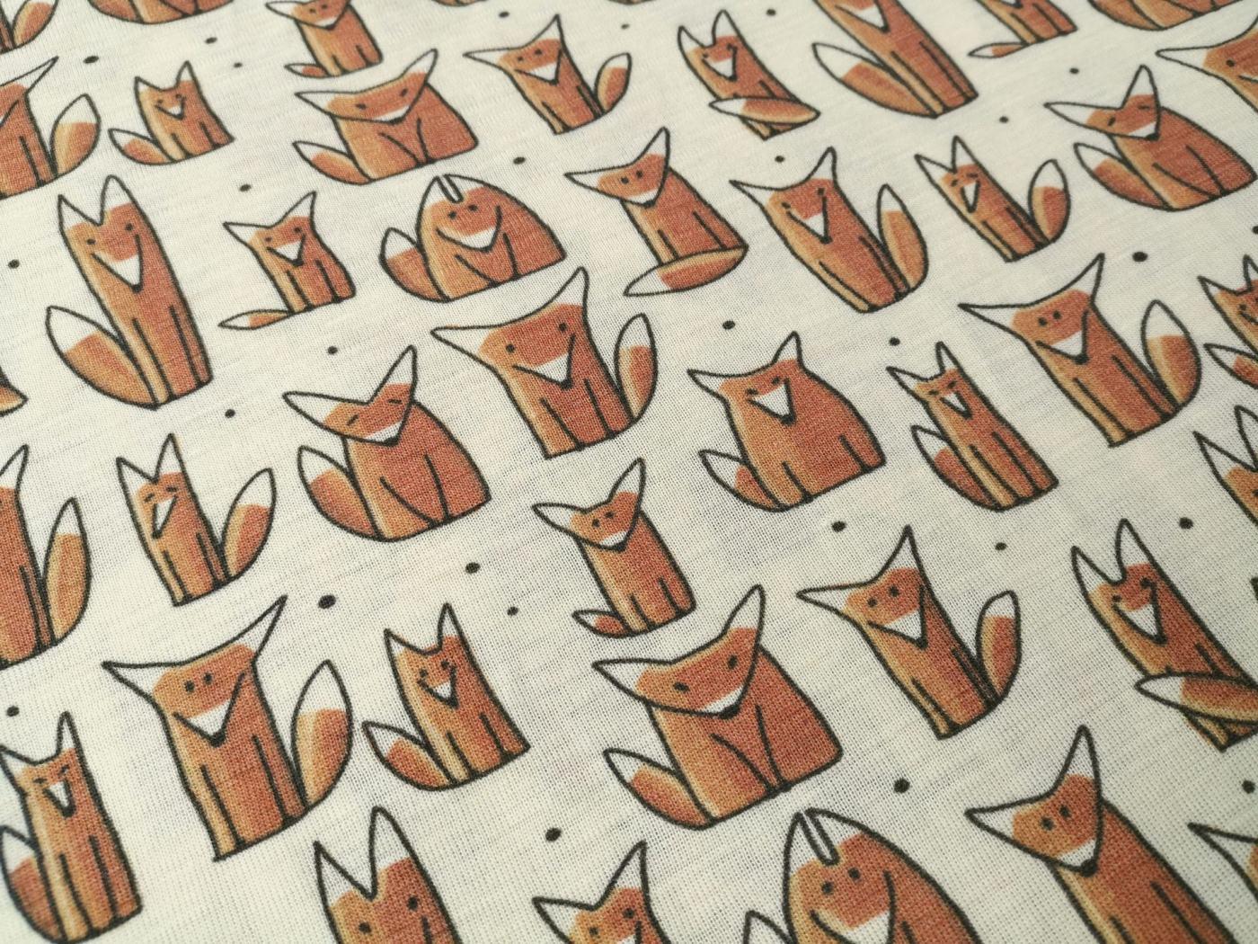 Wolle Seide Füchse 3