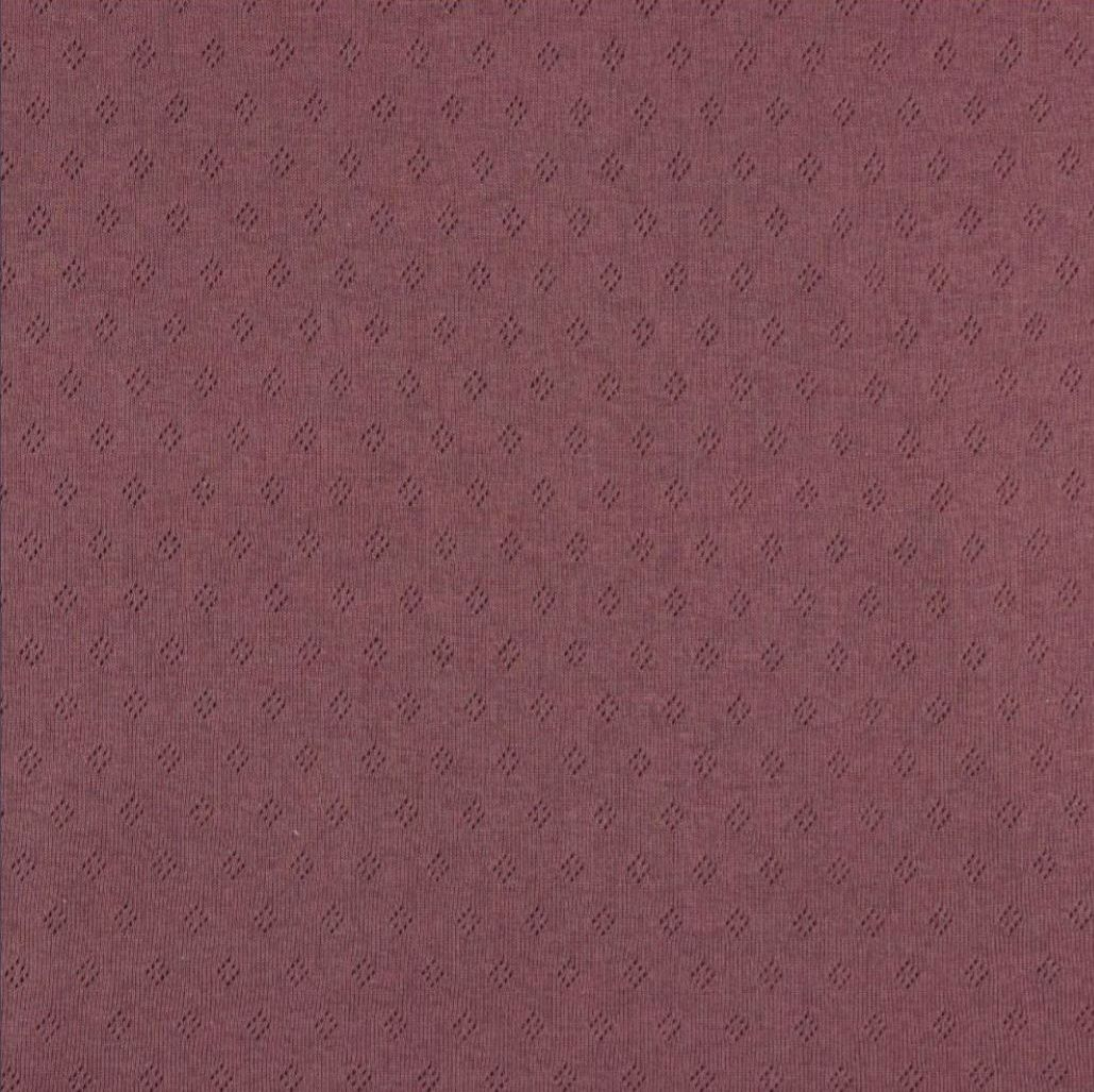 Pointoille Lochjersey mauve V 015