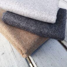 Webstoffe aus Wolle