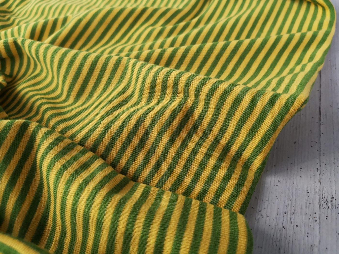 Miniringel senfgelb moosgrün