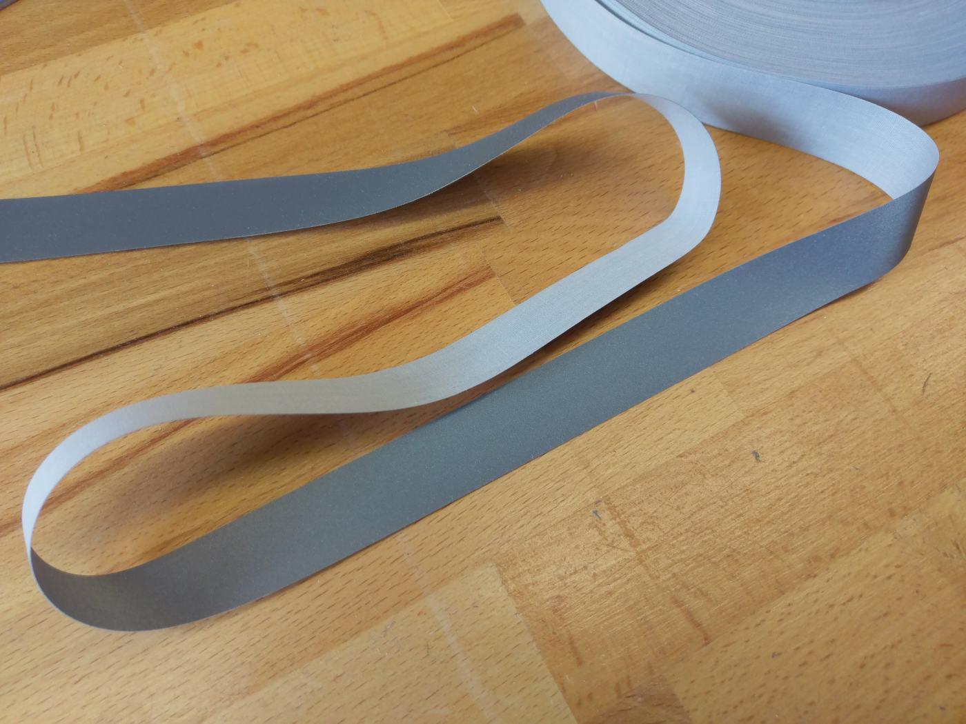 Reflektorband Reflexband zum Aufnähen 20mm