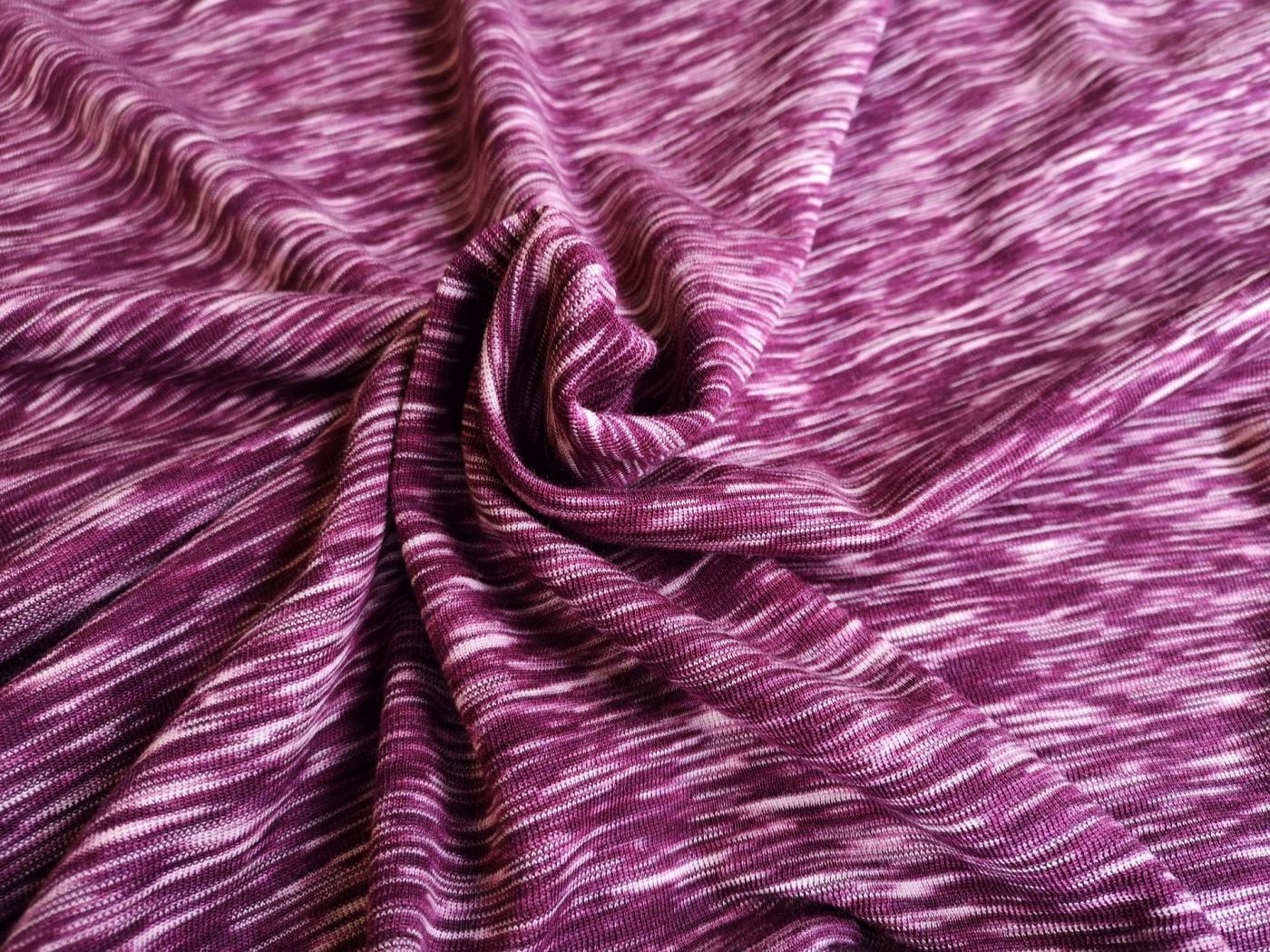 ws purple weiß meliert