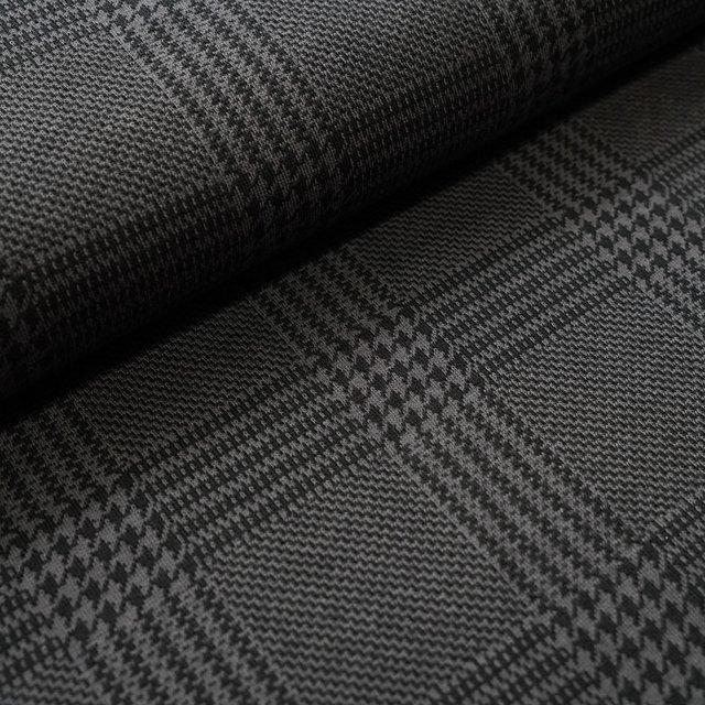 jacquard-glen-check-grau-schwarz