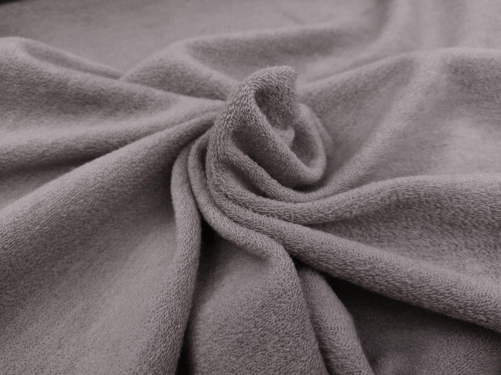 Wollfrottee grau