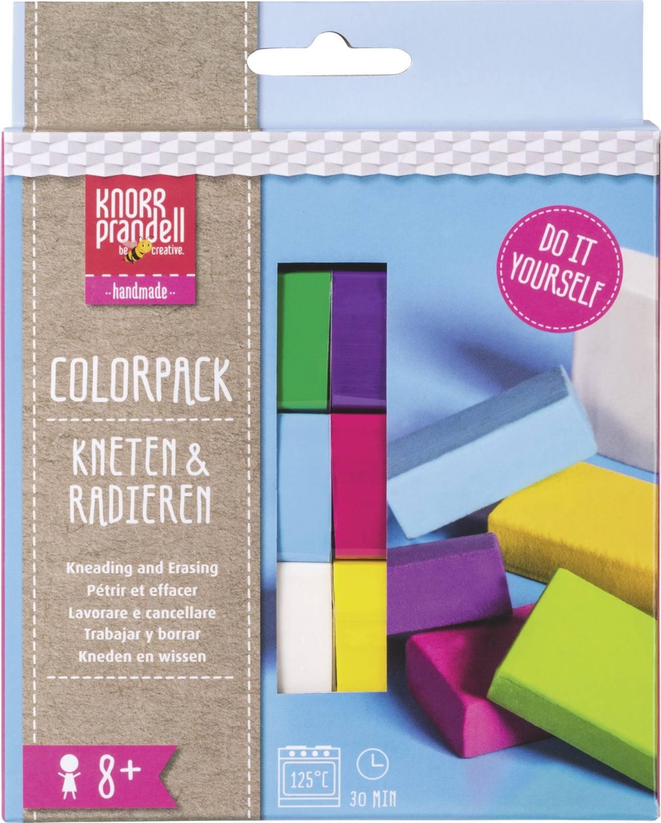Kneten und Radieren Colorpack Fun