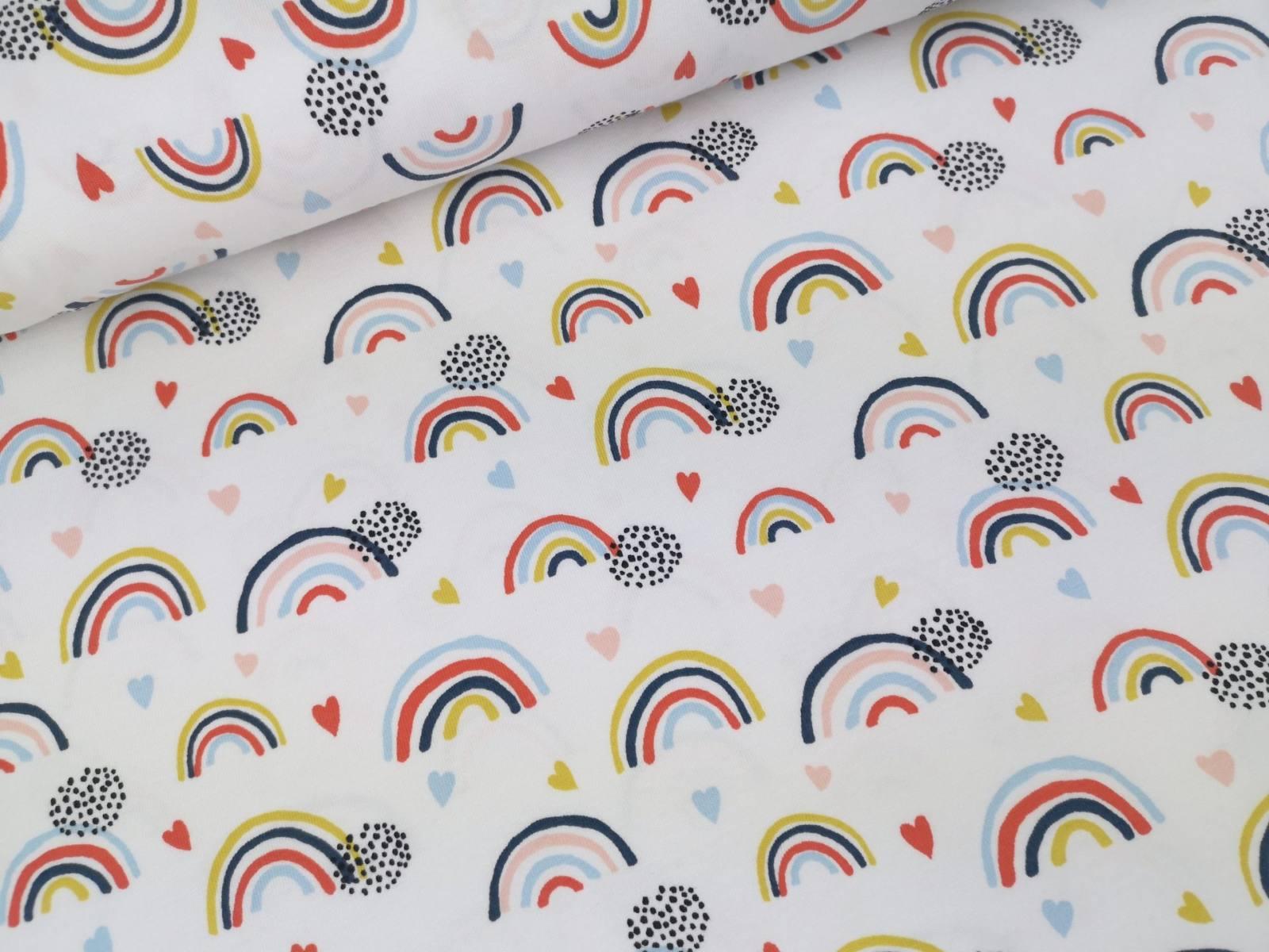 07712 001 Rainbow white