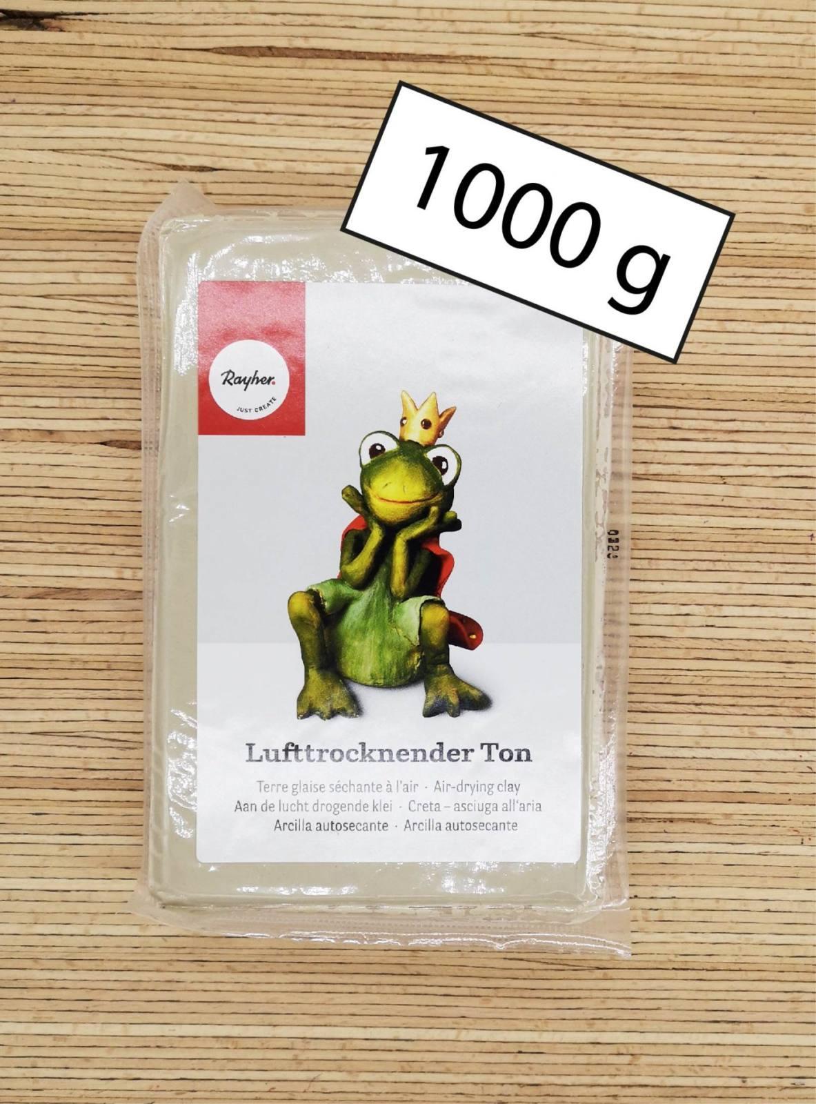 1000g lufttrocknender Ton-01