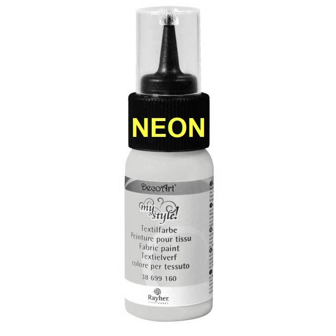Textilfarbe Neon