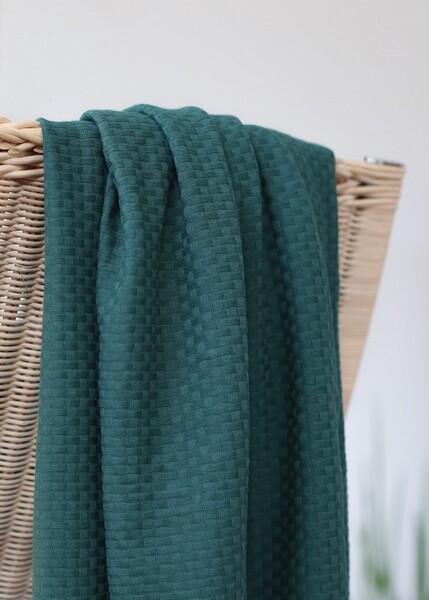 Organic wicker knit_LX2105 GREEN PINE