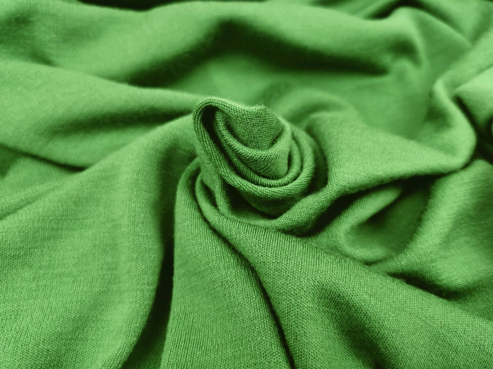 Merinojersey moosgrün