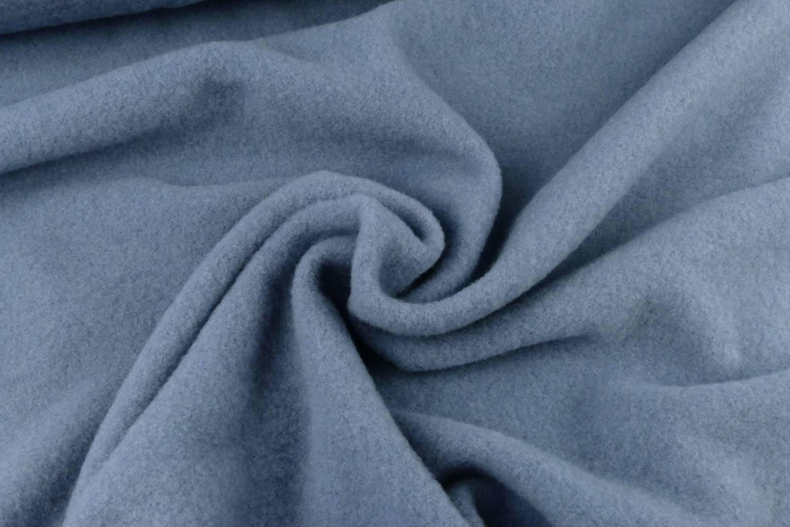 Merinofleece steinblau