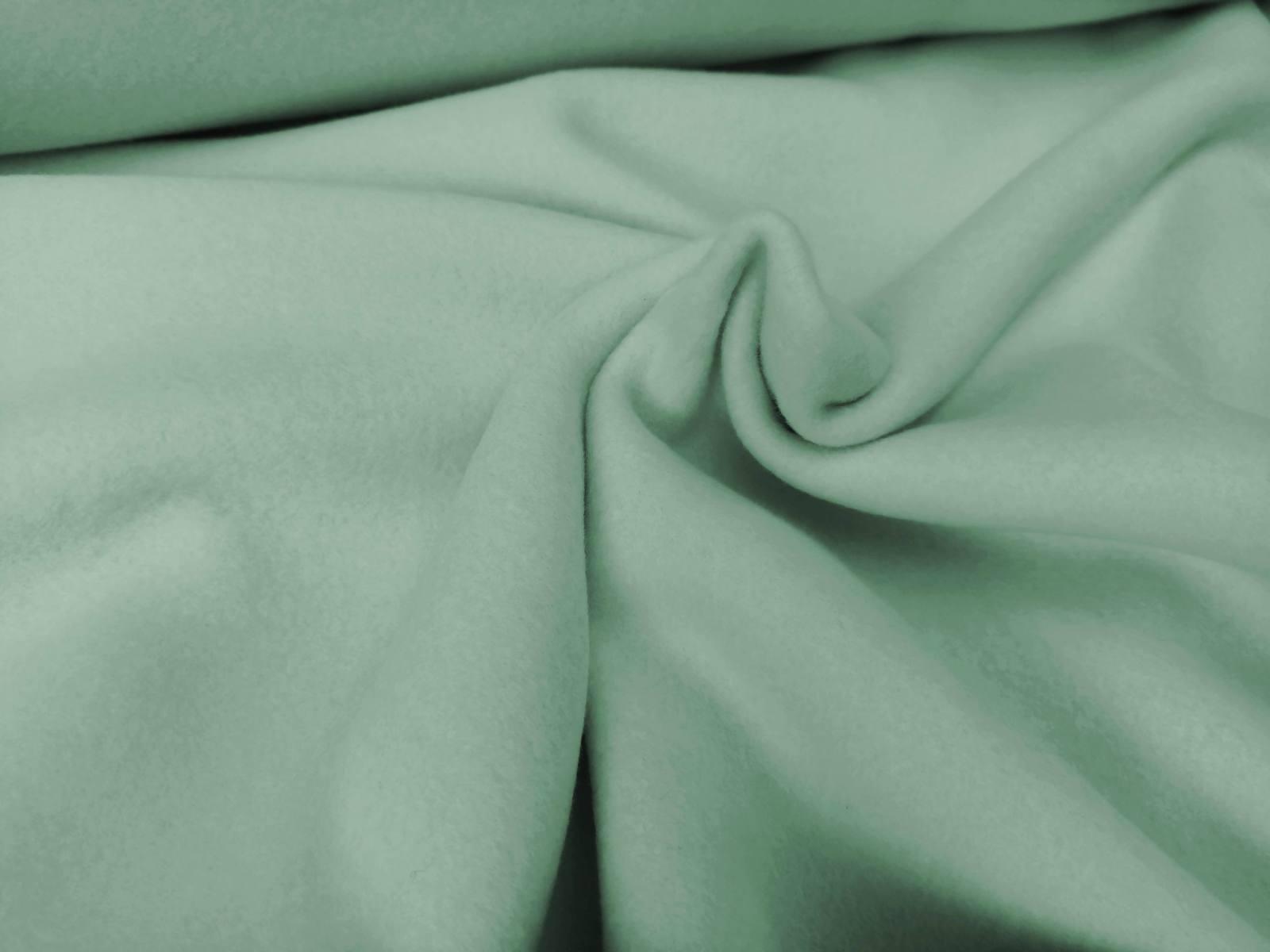 Bio Baumwollfleece dusty mint_angepasst