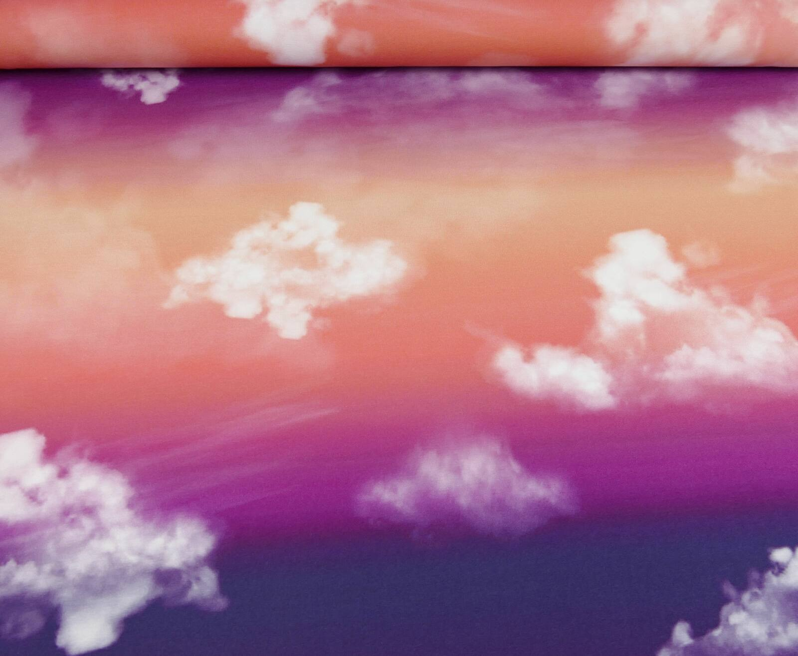 Cloudy Sky_coral-lila