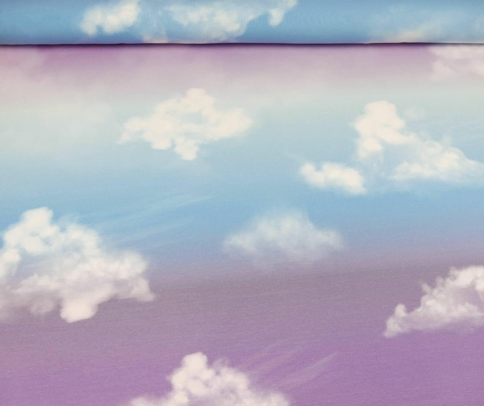 Cloudy Sky_flieder-blau