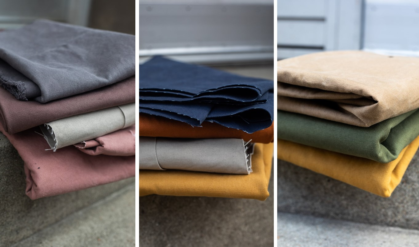 Heavy washed Canvas_alle